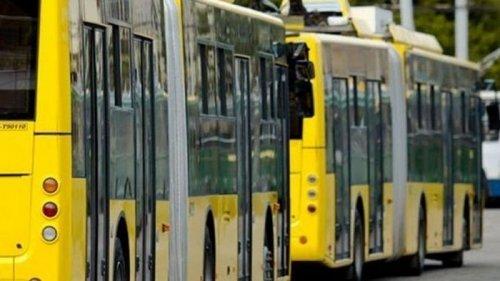 В Киеве транспорт начал работать без кондукторов