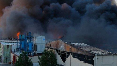 В Испании второй день горят склады с хамоном (видео)