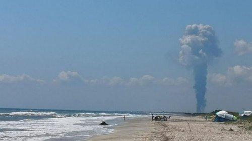 В Румынии прогремел взрыв и начался пожар на крупнейшем нефтезаводе страны (видео)