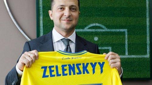 Зеленский пообщался со сборной Украины перед матчем против Англии