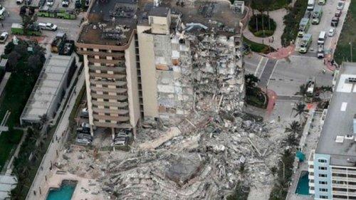 Обвал здания в Майами: взрывчаткой снесли уцелевшую часть