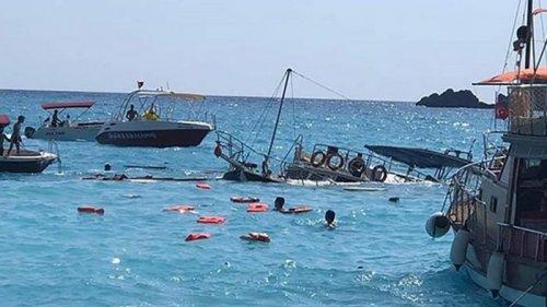 В Турции затонул катер с туристами, погиб ребенок (видео)