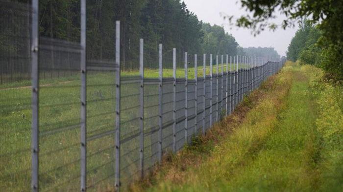 В Литве строят забор на границе с Беларусью
