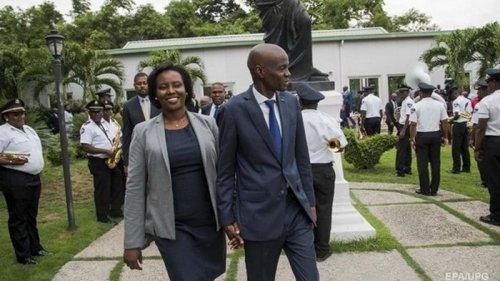 Жена президента Гаити впервые после его убийства сделала заявление
