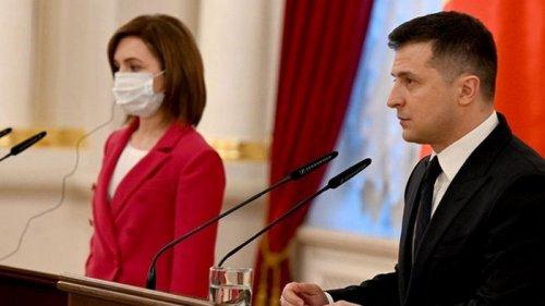 Зеленский обсудил с Санду евроинтеграцию