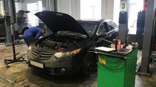 СТО Elcars: ремонт и обслуживание Honda в Харькове