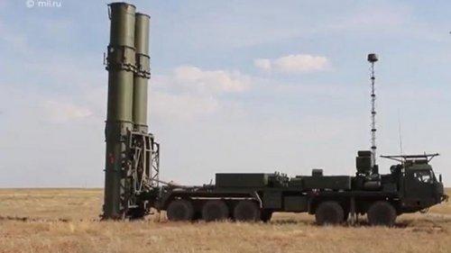 Россия провела испытания зенитной системы С-500 (видео)