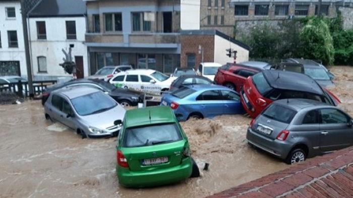 Пострадавшие от наводнения районы Бельгии снова накрыли ливни