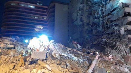 Обрушение элитного дома в Майами. Поиск тел завершен: погибли 97 человек
