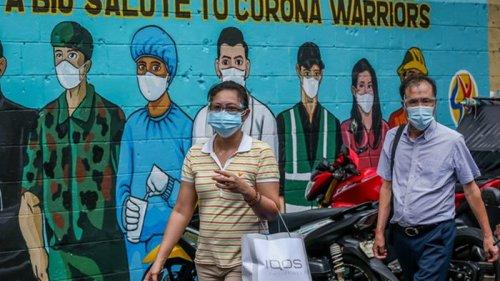 На Филиппинах детям запретили выходить из дома