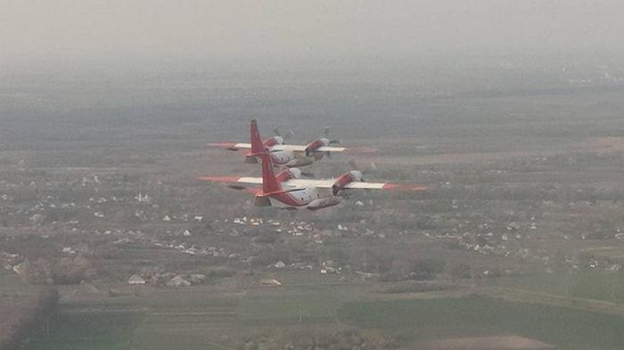 Украина отправила в Турцию пожарные самолеты
