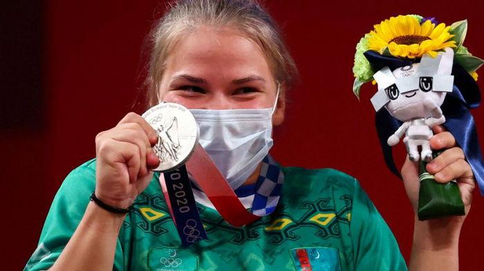 Впервые за 30 лет. Спортсменка из Туркменистана принесла для своей страны медаль
