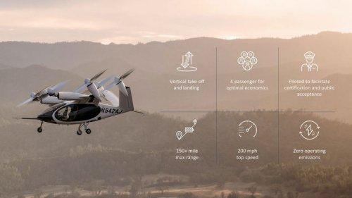 Аэротакси американского стартапа впервые пролетело 250 км на одном заряде (видео)