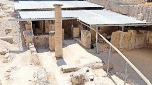 В Турции обнаружили необычные помещения в скале