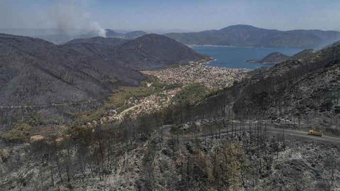 Пожары на курортах. В Турции задержали подозреваемого в поджоге