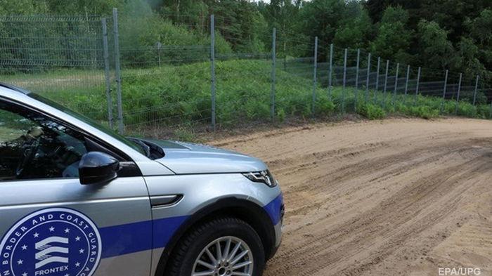 Frontex увеличил контингент на границе Литвы и Беларуси
