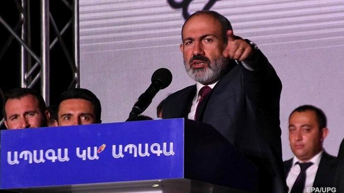 Премьер-министром Армении назначен Пашинян