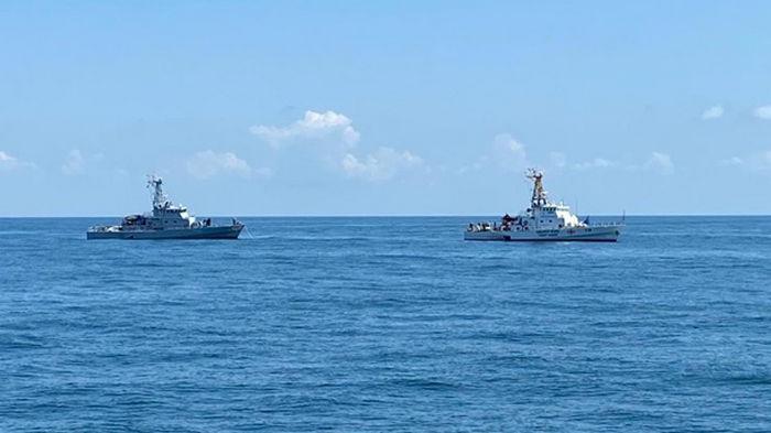 Украина и Грузия провели учения в Черном море
