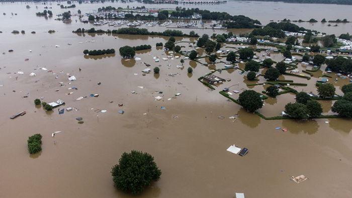 Наводнение в Германии: объем помощи составит около €30 млрд