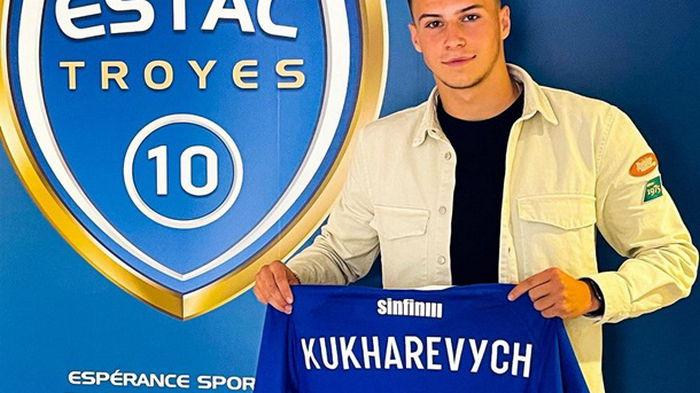 Украинец Кухаревич - в заявке Труа на матч против ПСЖ