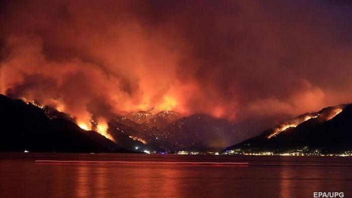 Лесные пожары в Турции: потушены все крупные очаги