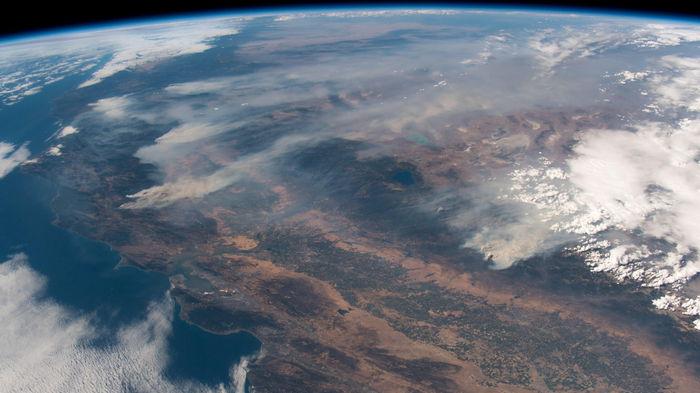 NASA опубликовало карту пожаров Земли