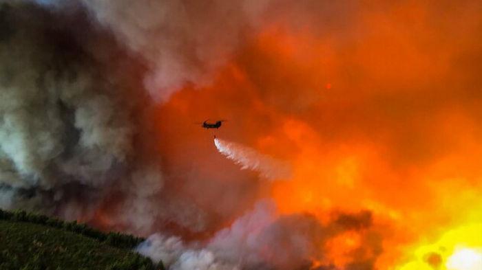 Пожары в Греции. Задержаны два человека, которые подозреваются в поджогах