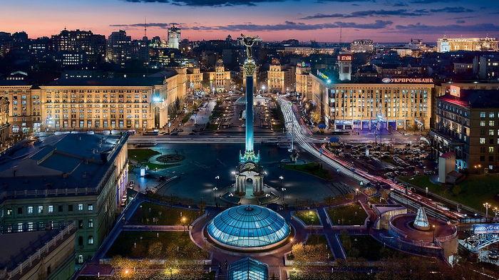 Киев — сердце Украины