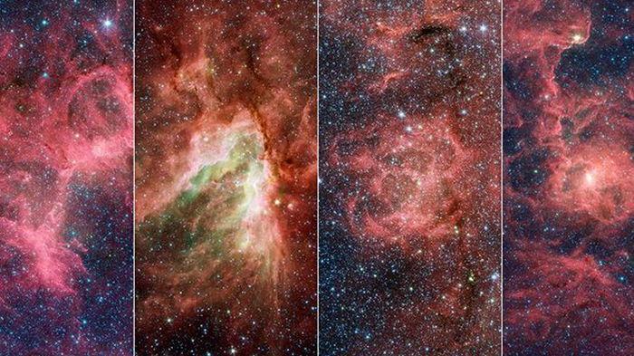 Астрономы нашли гигантский шип в одном из рукавов нашей Галактики