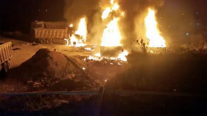 В Ливане взорвался газовый танкер: 20 погибших