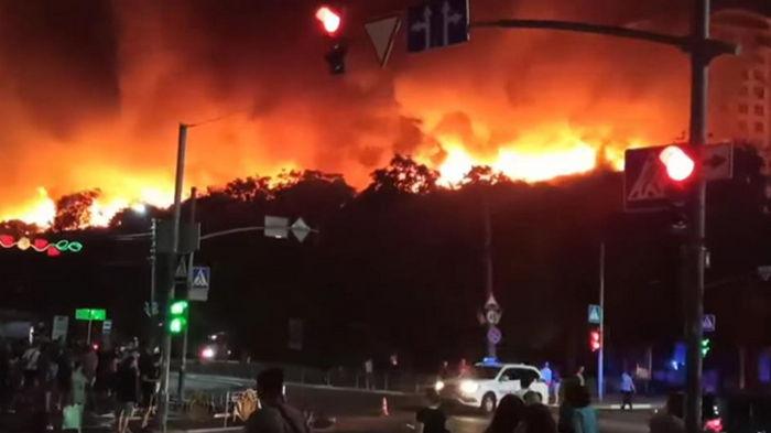 Полиция начала проверку по факту пожара в Броварах