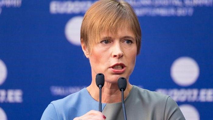 Президент Эстонии: не советую эстонцам инвестировать в Украину