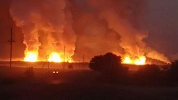 Взрыв в Казахстане: в воинской части хранилось более 500 тонн тротила