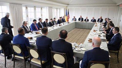 Зеленский провел встречу с представителями бизнеса США