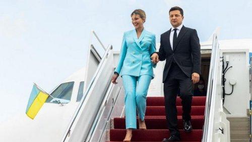 Президент Украины впервые приехал в Калифорнию