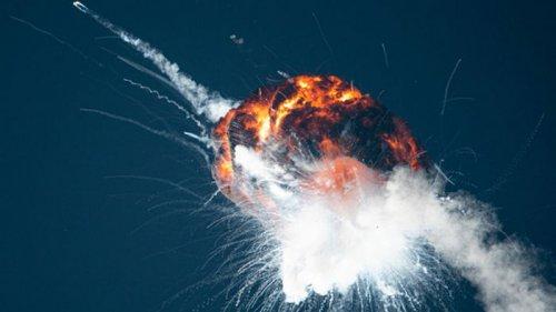 В США взорвалась ракета украинского бизнесмена (видео)