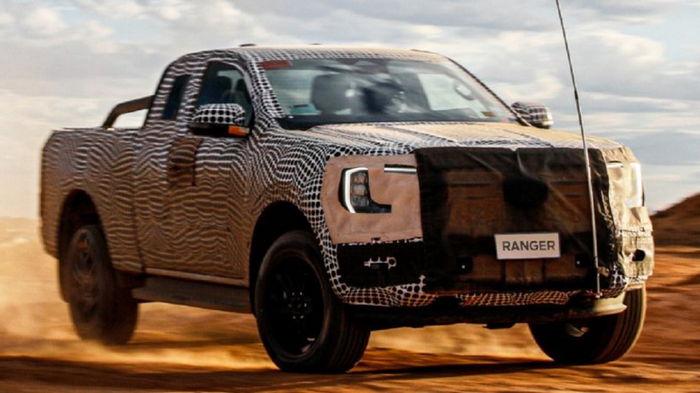 Новый Ford Ranger 2022 появится уже в этом году (видео)