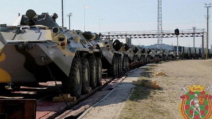 Беларусь и Россия начали крупнейшие в Европе военные учения