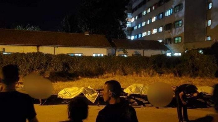 В Северной Македонии горела COVID-больница: 10 жертв (видео)
