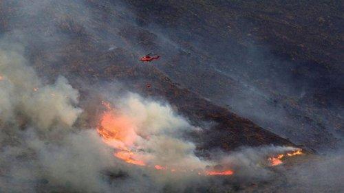 В Испании спустя неделю взяли под контроль крупный пожар
