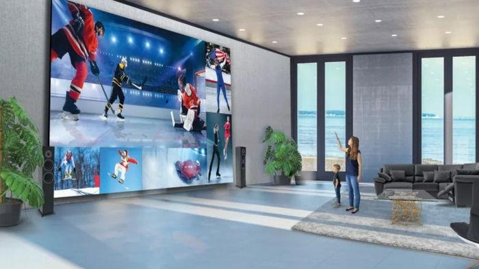 Роскошь на всю стену: LG представила 325-дюймовый 8K-телевизор за $1,7 млн (фото)