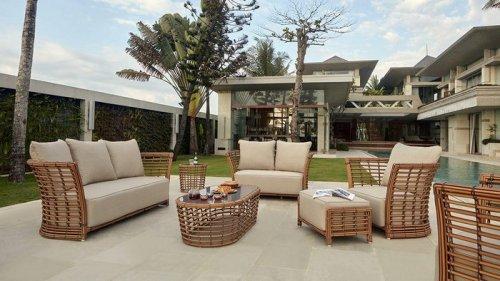 Мягкая мебель для сада и террасы