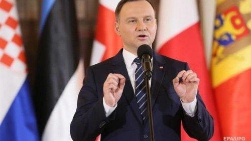 Дуда поддержал вступление Украины в ЕС