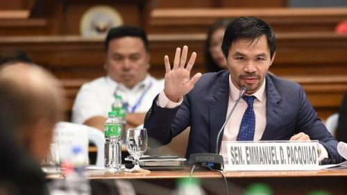 Боксера Мэнни Пакьяо выдвинули кандидатом в президенты Филиппин на выб...