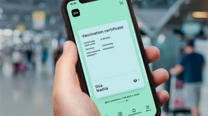 Украинцы уже могут распечатать СOVID-сертификаты на портале Дія