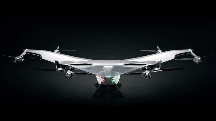 Airbus показал прототип электрического аэротакси (видео)