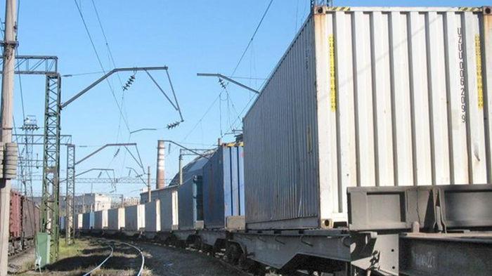Украина запустила первый контейнерный поезд в КНР