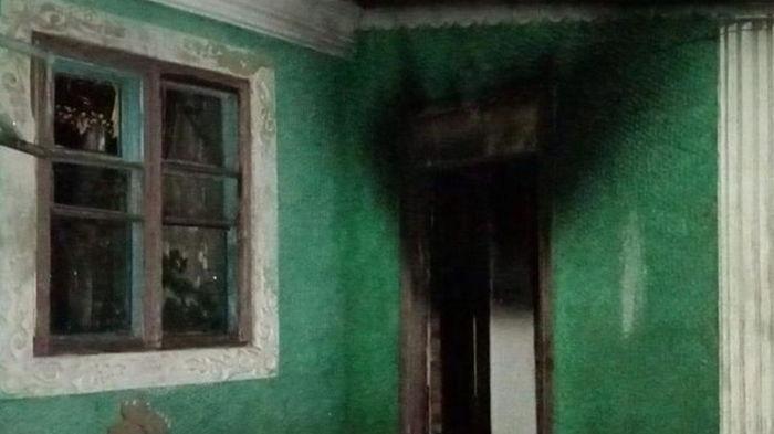 Дети ради развлечения подожгли дом многодетной семьи (фото)