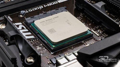 Самый дешевый процессор на AM4: на что способен AMD Athlon 200GE
