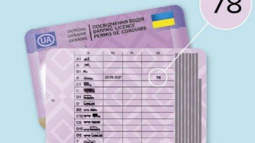В водительских правах появятся новые отметки и коды. Что они означают